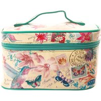 Claire's Hawaiian Post Card Cosmetic Travel Case - Hawaiian Gifts