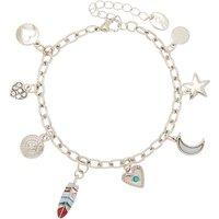 Claire's Silver Western Charm Bracelet - Charm Bracelet Gifts