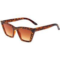 Claire's Tortoiseshell Rectangular Cat Eye Sunglasses - Sunglasses Gifts