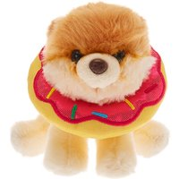 Claire's Boo The World's Cutest Dog™ Small Doughnut Soft Toy - Cream - Soft Gifts