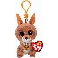 Claire's Ty Beanie Boo Kipper The Kangaroo Keyring Clip - Kangaroo Gifts
