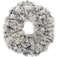 Claire's Teddy Hair Scrunchie - Black - Teddy Gifts