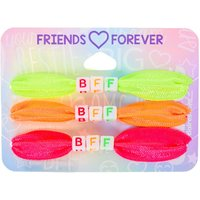 Claire's Neon Ribbon Stretch Friendship Bracelets - 3 Pack - Friendship Gifts