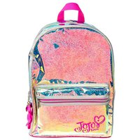 Claire's Jojo Siwa™ Holographic Glitter Backpack- Silver - Backpack Gifts