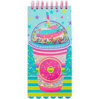 Claire's Sprinkle Donut Frappe Layered Notebook - Notebook Gifts
