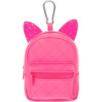 Claire's Neon Mini Backpack Keychain - Pink - Backpack Gifts