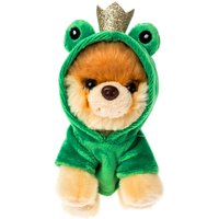Claire's Boo Small Frog Hoodie Plush Toy- Green - Dice Gifts