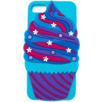 Claire's Star Cupcake Ipod Touch 5/6 Case - Turquoise - Ipod Gifts