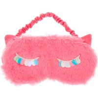 Claire's Sequin Lashes Sleeping Mask - Pink - Sleeping Gifts