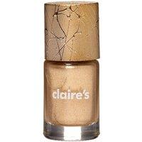 Claire's Metallic Nail Polish - Gold - Nail Gifts