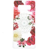 Claire's Floral Bling Mandala Phone Case - Fits Samsung Galaxy Note 8 - Bling Gifts