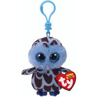 Claire's Ty Beanie Boo Yago The Owl Keyring Clip - Keyring Gifts