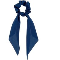 Claire's Satin Scarf Hair Scrunchie - Navy - Scarf Gifts