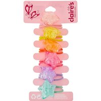 Claire's 6 Pack Rainbow Crackle Hair Bobbles - Ties Gifts