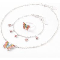 Claire's Club Rainbow Butterfly Jewelry Set - 3 Pack - Claires Gifts