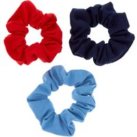 Claire's Small Patriotic Hair Scrunchies - 3 Pack - School Gifts