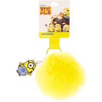 Claire's Despicable Me Minion Pom Pom Keyring - Minion Gifts
