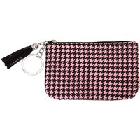 Claire's Houndstooth Tassle Coin Purse - Purse Gifts