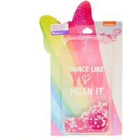 Claire's Jojo Siwa™ Dance Like You Mean It Glitter Phone Case - Fits Iphone 6/7/8 - Dance Gifts