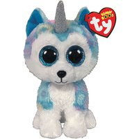 Claire's Ty Beanie Boo Small Helena The Unicorn Husky Soft Toy - Unicorn Gifts