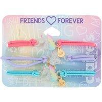 Claire's Glitter Unicorn Stretch Friendship Bracelets - 3 Pack - Friendship Gifts
