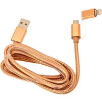 Claire's Rose Gold Dual Usb Phone Charger - Usb Gifts