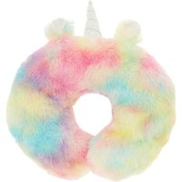 Claire's Pastel Rainbow Unicorn Travel Pillow - Pillow Gifts