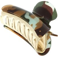 Claire's Camo Print Hair Claw - Green - Camo Gifts