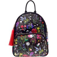 Claire's Botanical Floral Small Backpack - Black - Backpack Gifts