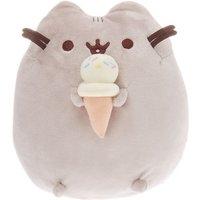 Claire's Pusheen Medium Ice Cream Soft Toy – Grey - Ice Cream Gifts