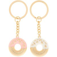 Claire's Best Friends Donut Keychains - 2 Pack - Keyrings Gifts