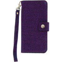 Claire's Glitter Folio Phone Case - Purple - Phone Gifts