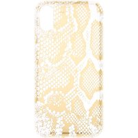 Claire's Gold Snake Skin Phone Case - Fits Iphone X/xs - Snake Gifts