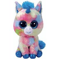 Claire's Ty Beanie Boo Small Blitz The Unicorn Soft Toy - Beanie Gifts