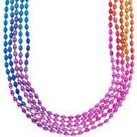 Claire's Ombre Rainbow Beaded Necklaces - 5 Pack - Necklaces Gifts