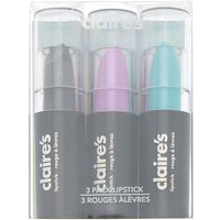 Claire's Cosmic Lipstick Set - 3 Pack - Lipstick Gifts