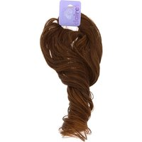 Claire's Long Curly Faux Hair Bobble - Brown - Brown Gifts