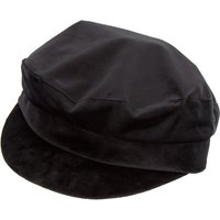 Claire's Velvet Captain Hat - Black - Hat Gifts