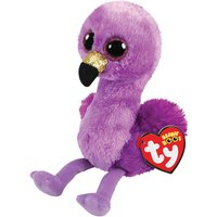 Claire's Ty Beanie Boo Small Fifi The Flamingo Soft Toy - Soft Gifts