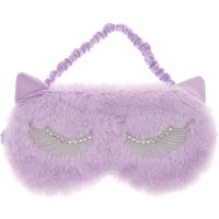 Claire's Lilac Cat Ear Sleeping Mask - Lilac Gifts