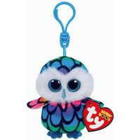 Claire's Ty Beanie Boo Aria The Owl Keyring Clip - Beanie Gifts