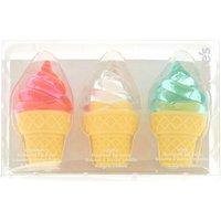 Claire's Ice Cream Flavoured Lip Balm Set - Lip Balm Gifts