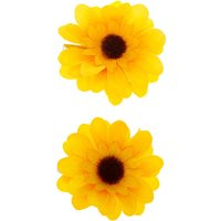 Claire's Sunflower Hair Clips - Yellow, 2 Pack - Hair Gifts