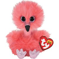 Claire's Ty Beanie Boo Small Franny The Flamingo Soft Toy - Flamingo Gifts