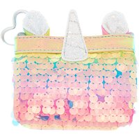 Claire's Rainbow Holographic Sequin Unicorn Zip Coin Purse - Purse Gifts