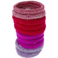 Claire's Berry Glitter Hair Ties - 10 Pack - Ties Gifts