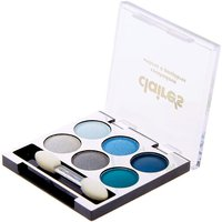 Claire's Mini Blues Eyeshadow Palette - Makeup Gifts