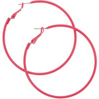 Claire's 60MM Fuchsia Hoop Earrings - Fuchsia Gifts