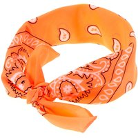 Claire's Neon Coral Bandana Headwrap - Coral Gifts