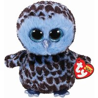Claire's Ty Beanie Boo Medium Yago The Owl Soft Toy - Beanie Gifts